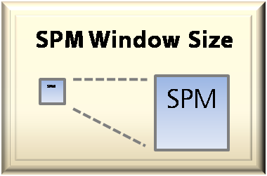 Adjust SPM Window Size
